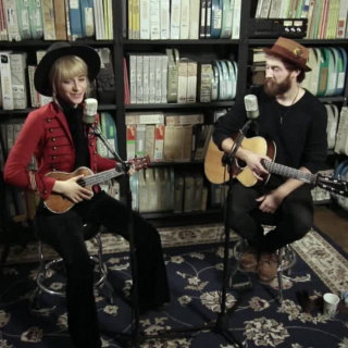 Wrenn and Sam Burchfield at Paste Studios on Dec 12, 2016