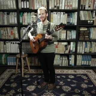 Kevin Devine at Paste Studios on Jan 4, 2017