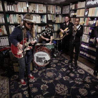 The Marcus King Band at Paste Studios on Feb 27, 2017