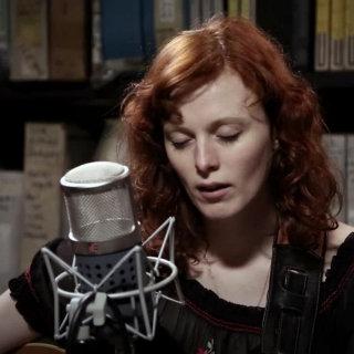 Karen Elson at Paste Studios on Apr 7, 2017