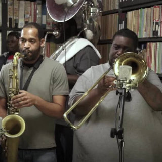 Hot 8 Brass Band at Paste Studios on Apr 18, 2017