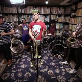 Lucky Chops at Paste Studios on Apr 19, 2017