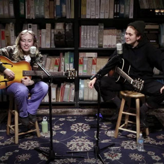 Girlpool at Paste Studios on May 12, 2017