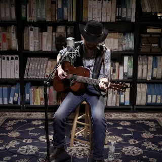 Colter Wall at Paste Studios on May 16, 2017