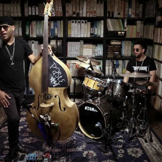Miles Mosley at Paste Studios on May 31, 2017