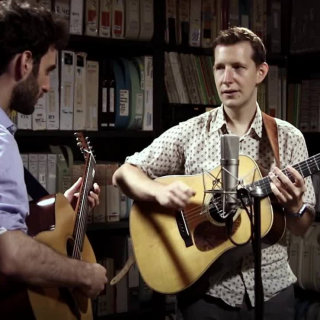 Julian Lage & Chris Eldridge at Paste Studios on Jul 17, 2017