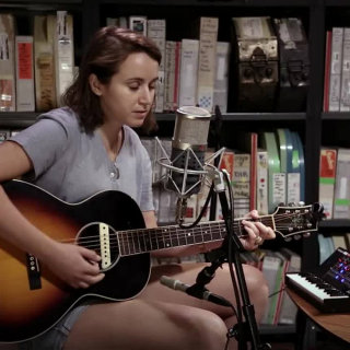 Holly Miranda & Kyp Malone at Paste Studios on Aug 2, 2017