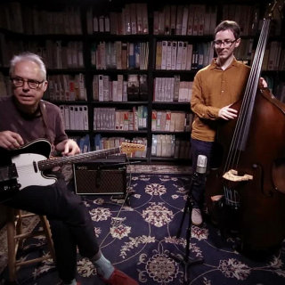 Bill Frisell & Thomas Morgan at Paste Studios on Aug 16, 2017
