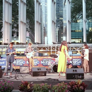 Space Captain at Bryant Park on Aug 19, 2017
