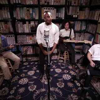 Durand Jones & The Indications at Paste Studios on Aug 28, 2017