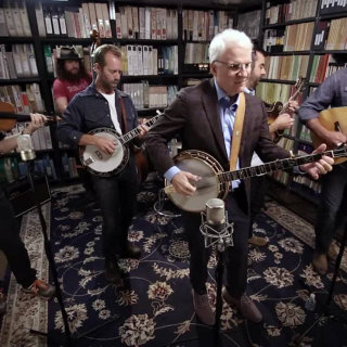 Steve Martin with the Steep Canyon Rangers at Paste Studios on Sep 29, 2017