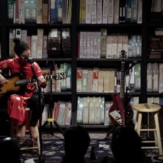 Emel Mathlouthi at Paste Studios on Oct 11, 2017