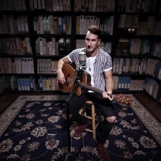 Russell Dickerson at Paste Studios on Oct 16, 2017