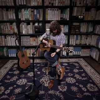 Angelo De Augustine at Paste Studios on Oct 23, 2017