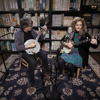 Bela Fleck & Abigail Washburn at Paste Studios on Dec 7, 2017
