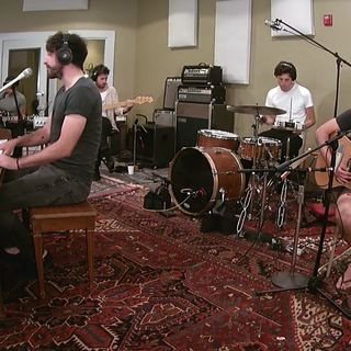 The Coronas at Daytrotter Studios on Aug 6, 2018
