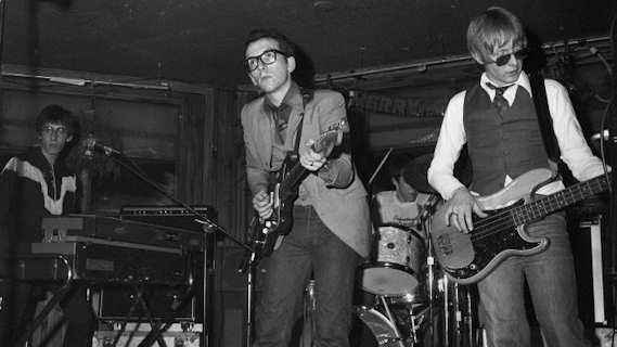 Elvis Costello & the Attractions concert at Capitol Theatre on May 5, 1978