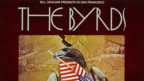 The Byrds concert at Fillmore West on Jan 4, 1970