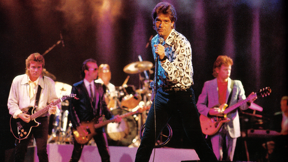 Huey Lewis & the News concert at Slim's on May 23, 1989