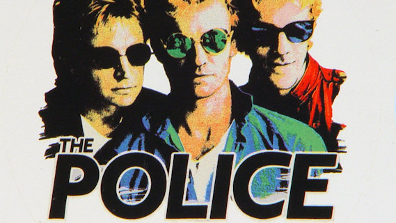 The Police concert at Giants Stadium on Jun 15, 1986
