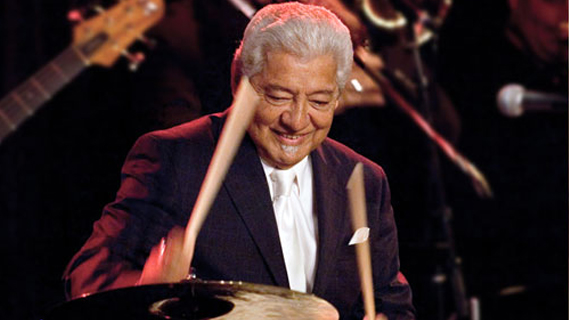 Pete Escovedo concert at Gift Center on May 29, 1989