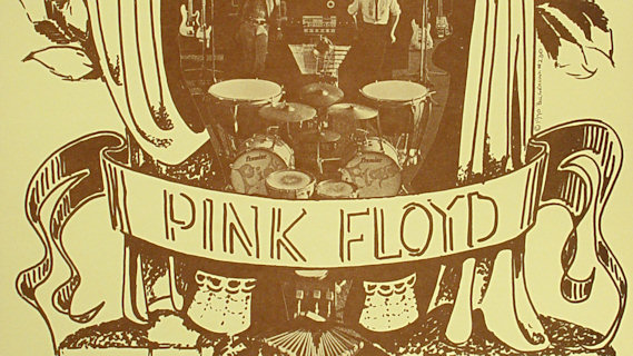 Pink Floyd concert at Fillmore West on Apr 29, 1970