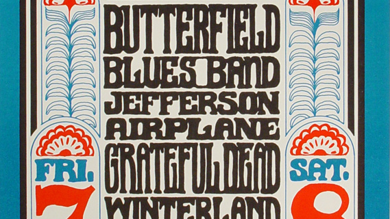 Jefferson Airplane concert at Winterland on Oct 8, 1966