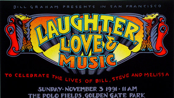 Grateful Dead concert at Golden Gate Park on Nov 3, 1991