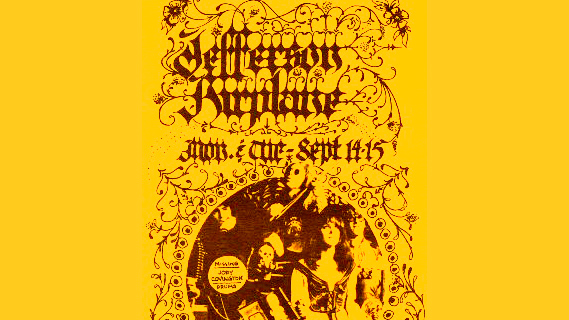 Jefferson Airplane concert at Fillmore West on Sep 15, 1970