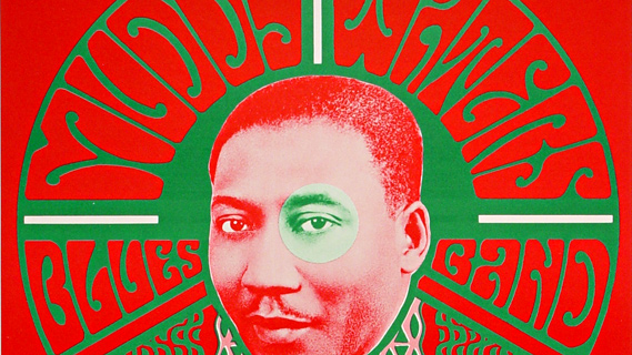 Muddy Waters Blues Band concert at Fillmore Auditorium on Nov 4, 1966