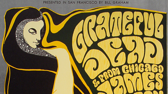 Grateful Dead concert at Fillmore Auditorium on Nov 19, 1966