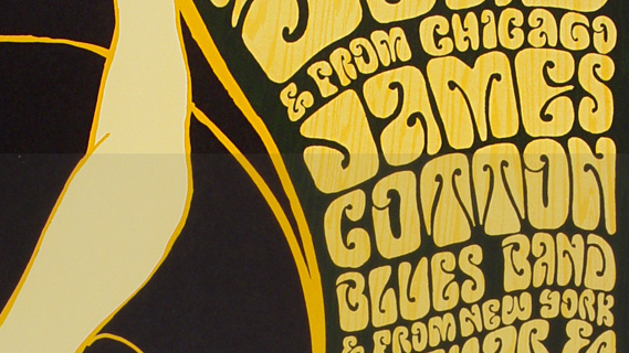 James Cotton Blues Band concert at Fillmore Auditorium on Nov 25, 1966