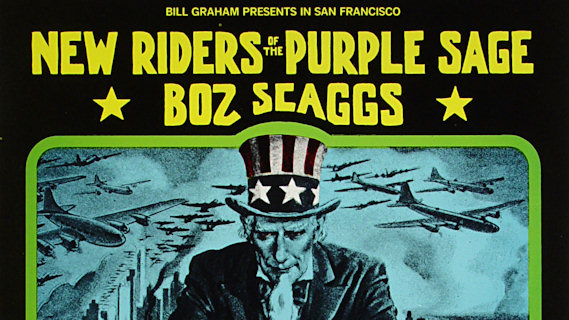The New Riders of the Purple Sage concert at Fillmore West on Feb 27, 1971