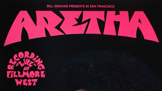 Aretha Franklin concert at Fillmore West on Mar 5, 1971