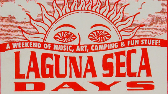 George Clinton & the P-Funk All-Stars concert at Laguna Seca Raceway on May 27, 1995