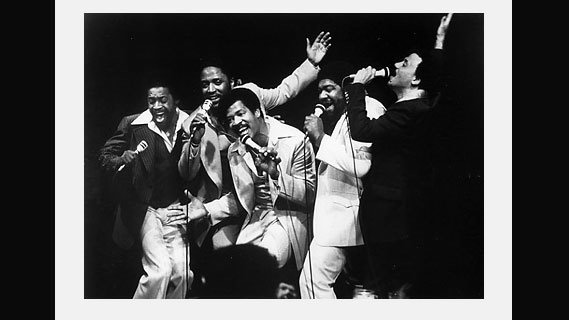 The Persuasions concert at Winterland on Nov 24, 1972