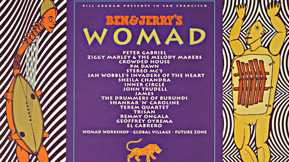 Inner Circle concert at W.O.M.A.D. Festival on Sep 18, 1993