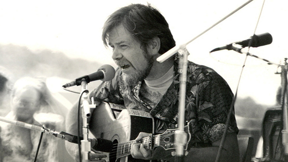 Dave Van Ronk concert at Windham College on Dec 2, 1972