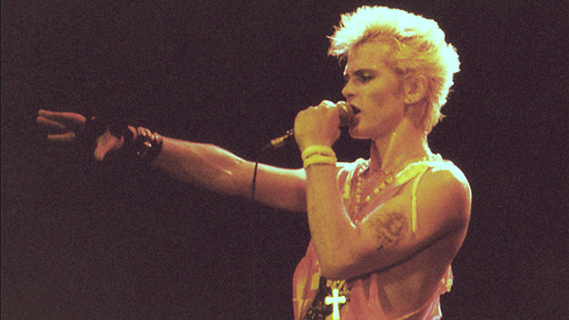 Billy Idol concert at Nassau Coliseum on Sep 8, 1984
