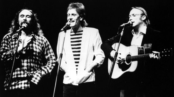 Crosby, Stills &amp; Nash concert at Universal Amphitheatre on Nov 28, 1982