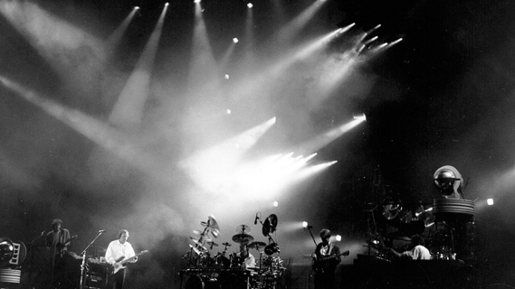 Pink Floyd concert at Nassau Coliseum on Aug 20, 1988