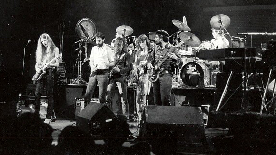 The Doobie Brothers concert at Madison Square Garden on Sep 19, 1979