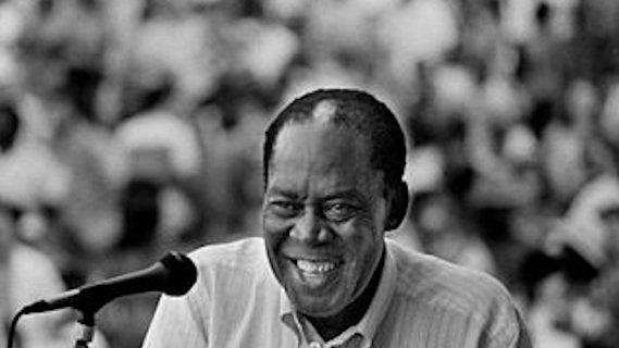 Memphis Slim concert at Newport Jazz Festival on Jul 1, 1965