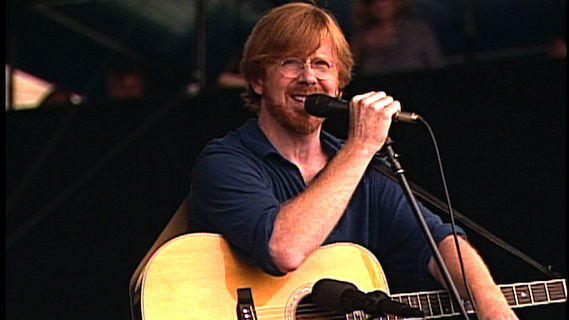 Trey Anastasio concert at Newport Folk Festival on Aug 2, 2008