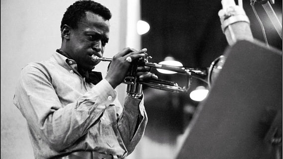 Miles Davis All-Stars concert at Newport Jazz Festival on Jul 17, 1955