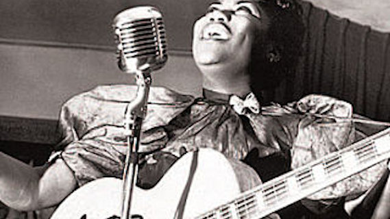 Sister Rosetta Tharpe concert at Newport Jazz Festival on Jul 3, 1964