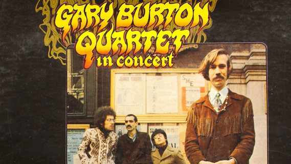 Gary Burton Quartet concert at Newport Jazz Festival on Jul 1, 1967