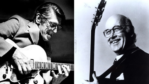 Jim Hall and Tal Farlow concert at Central Park on Jun 30, 1973