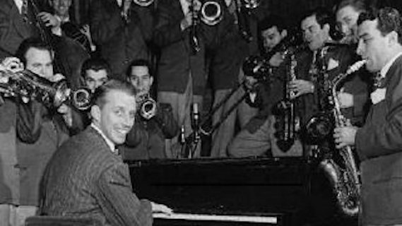 Stan Kenton & Orchestra concert at Newport Jazz Festival on Jul 5, 1959