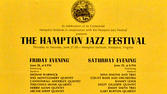 The Original Tuxedo Jazz Band concert at Hampton Jazz Festival on Jun 27, 1968